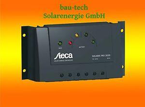 steca solarix prs 3030 solar laderegler f r wohnmobil. Black Bedroom Furniture Sets. Home Design Ideas