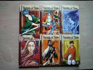 Threads-of-Time-1-6-Lot-of-6-Shonen-Manga-English-13-Mi-Yonug-Noh