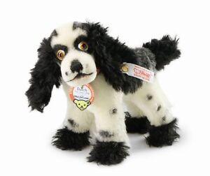STEIFF-BUTCH-THE-COVER-DOG-EAN-682759-8-inches-17cm-MOHAIR-NEW-NRFB