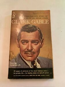 1961-Clark-Gable-by-George-Carpozi-Pyramid-1st-Printing-Paperback