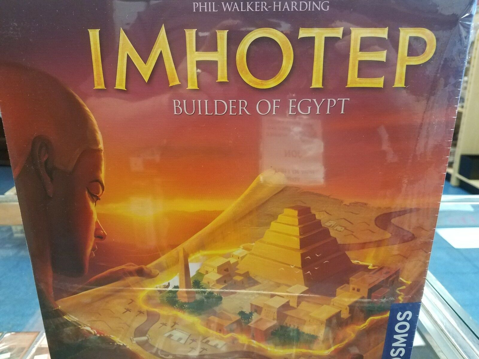 Imhotep Builder of Egypt - Kosmos Games Board Game Nuovo
