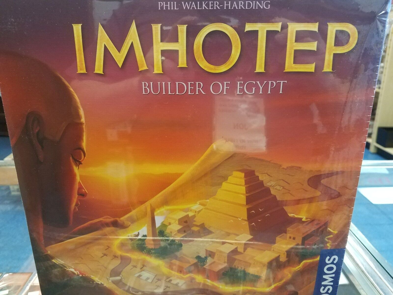 Imhotep Builder of Egypt - Kosmos Games Board Game New
