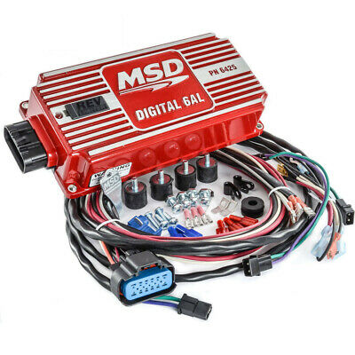 MSD Ignition 6425 Digital 6AL Ignition Control With Rev Control new in the box