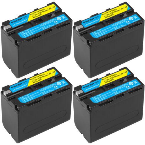 7800mAh NP-F970 NP-F960 batería o el cargador para Sony NP-F770 F570 NP-F550 NP-F950