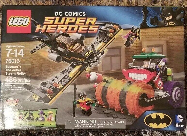 LEGO Batman The Joker Steam Roller  76013  retirosso product
