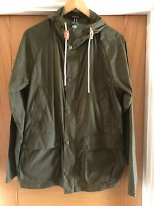 Barbour-Bedale-Lightweight-Rain-Jacket-Size-Medium-Green