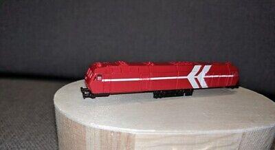 5013 L1 – Locomotiva Diesel Mak De 1024, Esecuzione Rosso, Traccia Z, M 1:220-ve Mak De 1024, Ausführung Rot, Spur Z, M 1:220 It-it Mostra Il Titolo Originale Ad Ogni Costo