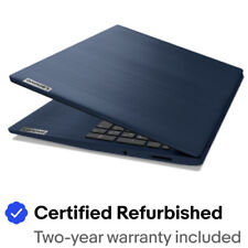 "Certified Refurbished LENOVO 81WE008HUS IdeaPad 3 15IIL05 15.6"" HD i3-1005G1"