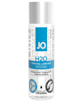 Jo H20 Original Water Based Personal Unscented Lubricant Toy Lube 2oz (60ml)