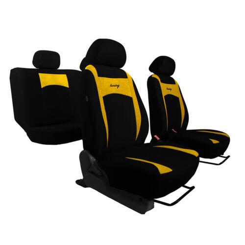 Universal Sitzbezüge für Opel Agila A Gelb Autositzbezug Schonbezüge Set Bezug