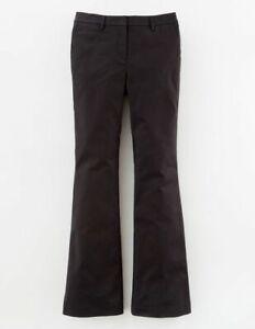 Boden-Hose-Cheyne-Flare-Damenhose-Stretch-Elegant-Schwarz-NEU-UK-14-EU-42