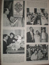 Photo article attempted assassin of Nasser Latif on trial Egypt 1954