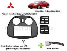 Mitsubishi Eclipse Radio Stereo Double 2 Din Dash Install Kit Mount Trim Bezel