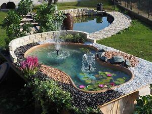 Laghetto laguna da giardino per pesci e piante acquatiche for Vasca giardino pesci