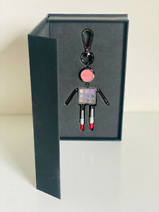 NEW! MAC COSMETICS LIMITED EDITION METAL ROBOT KEYCHAIN BAG CHARM SALE