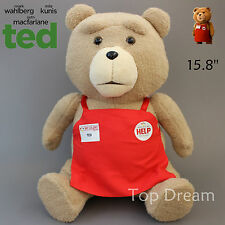 NEW Ted Bear Plush Toys Soft Stuffed Doll Sitting Teddy Bears Kids Gift 40cm Big
