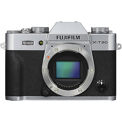 Nuevo Fujifilm X-T20 Mirrorless Digital Camera  - Silver (Body Only)