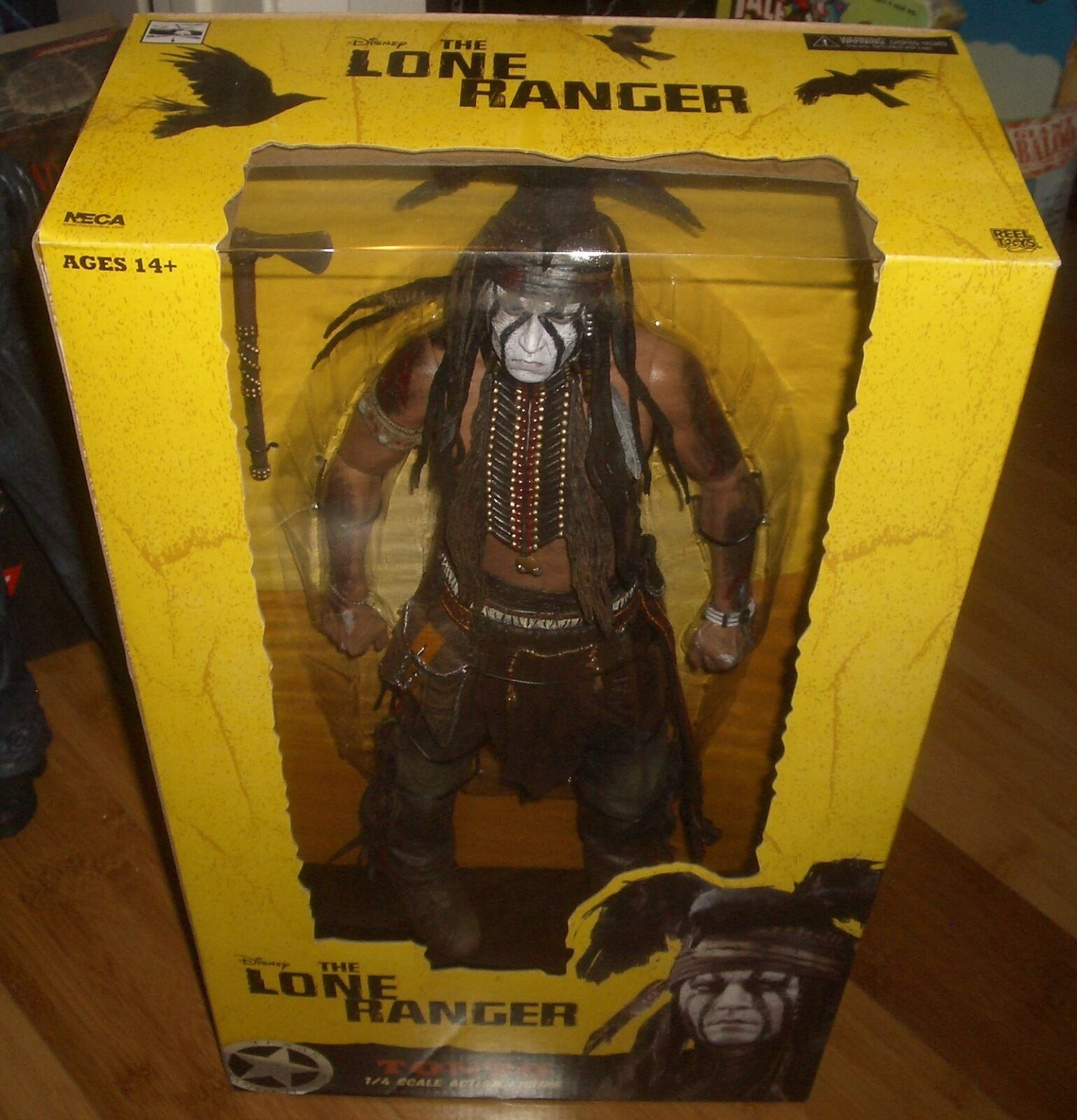 18  The Lone Ranger Tonto Johnny Depp Neca figure