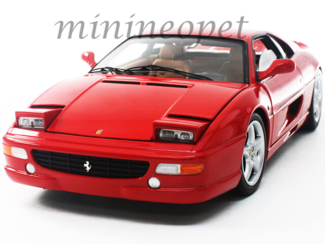 Hot Wheels Ferrari F355 Berlinetta Red Elite Edition 1/18 cast ...