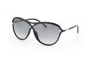 7c82b1a764f00 Image is loading Tom-Ford-TABITHA-Sunglasses-Black-Frame-Smoke-Gradient-