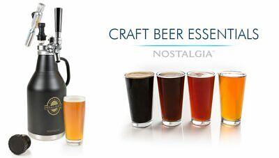 64-Ounce Black Nostalgia CBG64 HomeCrraft Beer Growler