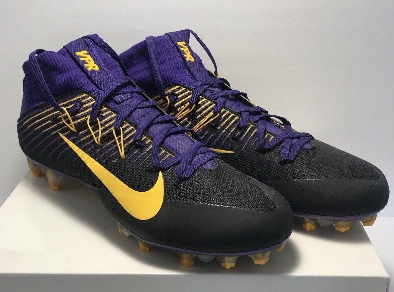 Nike Uomo Taglia 12 Nero Intoccabile 2 Puple Nero 12 Giallo Football  tte Nuove 200 Dollari. 437559
