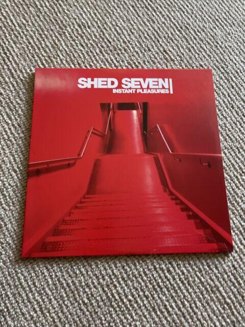 SHED SEVEN INSTANT PLEASURES BLACK VINYL ALBUM