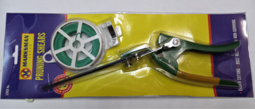 PRUNING SHEARS GARDEN GRASS EDGE CUTTING TRIMMING WITH FREE WIRE