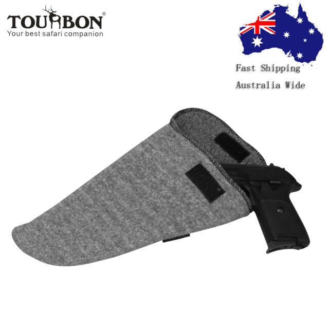 Tourbon 5 Pieces Gun Socks Bag Handgun Sleeves Rifle Bolt Carrier Pistol Slip
