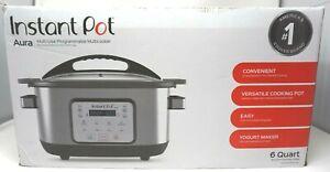 Instant-Pot-6-Qt-Aura-Multi-Use-Programmable-Multicooker-Silver
