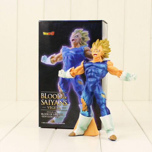 figurine Majin Vegeta  Blood of Saiyans Saga Buu taille 17 cm Dragon Ball Z