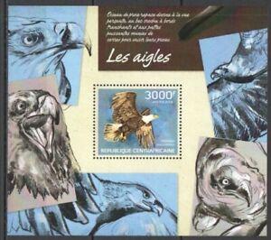 Republica-Centroafricana-2014-las-Aguilas-Yvert-Coleccion-N-658-Nueva-MNH