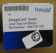 Datacard Imagecard Series Clear Topcoat Ribbon 806125-103