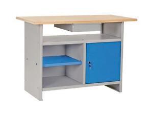 Banco Di Lavoro Con Cassetti : Banco bancone tavolo da lavoro con cassetti mt professionale