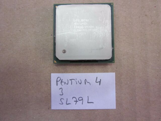 Procesador Intel Pentium 4 3,00 GHz SL79L Socket 478 CPU FUNCIONANDO