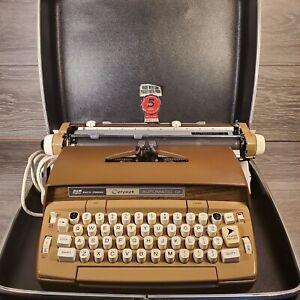 Smith Corona Coronet Automatic 12 Electric Typewriter w/ Case Working Condition