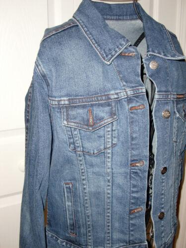 moto harley Usa jean en bleu davidson logo de veste avec Manteau Made RwCx5qBBv