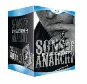 COFFRET BLU RAY BIKE - SERIE  : SONS OF ANARCHY - L'INTEGRALE DES SAISONS 1 A 5