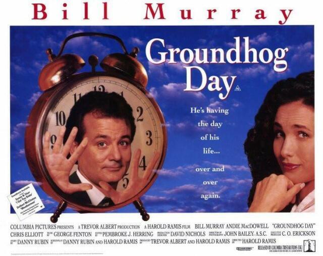 Image result for groundhog day poster