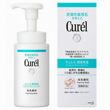 Kao Curel Foam Facial Wash for Sensitive Dry Skin 150ml