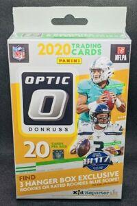 2020 🔥Donruss OPTIC Football🔥HANGER Box NFL New Sealed! Herbert Burrow Tua
