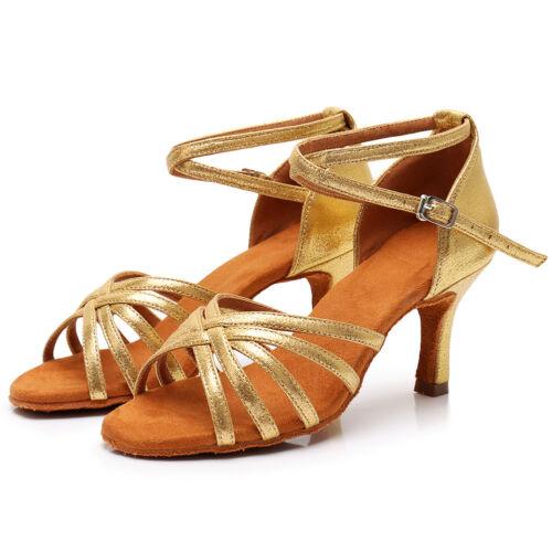 Women/'s Girl/'s lady/'s Ballroom Latin Tango Dance Shoes heeled Salsa Dancing shoe