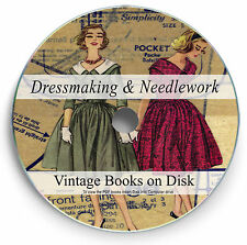 Rare Books Dressmaking Needlework DVD Sewing Womens Clothes Tailoring Thread 260