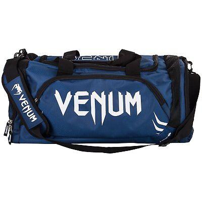 Venum Trainer LITE Sports Borsa Borsone Navy Bianco THAI KICK BOXING MMA Formazione