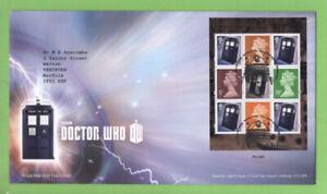 Graham-Brown-2013-Dr-Who-folleto-panel-de-Royal-Mail-primer-dia-cubierta-tallents-House
