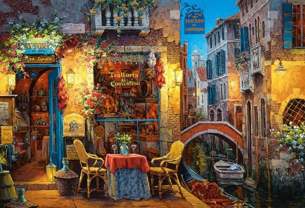 3000 pcs Puzzle Our Special Place in Venice Castorland C-300426
