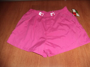 New-Womens-Size-Large-L-14-16-Energy-Zone-Pink-Casual-Athletic-Shorts