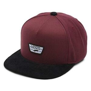 15c366a453f Vans - MINI FULL PATCH Mens Hat (NEW) Snapback Cap BURGUNDY BLACK ...