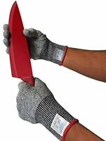 Kibaron Cut Resistant Gloves With Ce Cut Level 5 Protection For Your Safety, X-l on sale