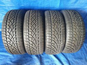 4-X-Nouveau-Pneus-hiver-Dunlop-SP-Sports-D-039-Hiver-3d-225-45-r17-91-H-Runflat-Dot-11